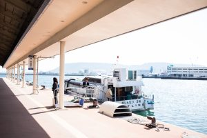 豊島行き高速艇