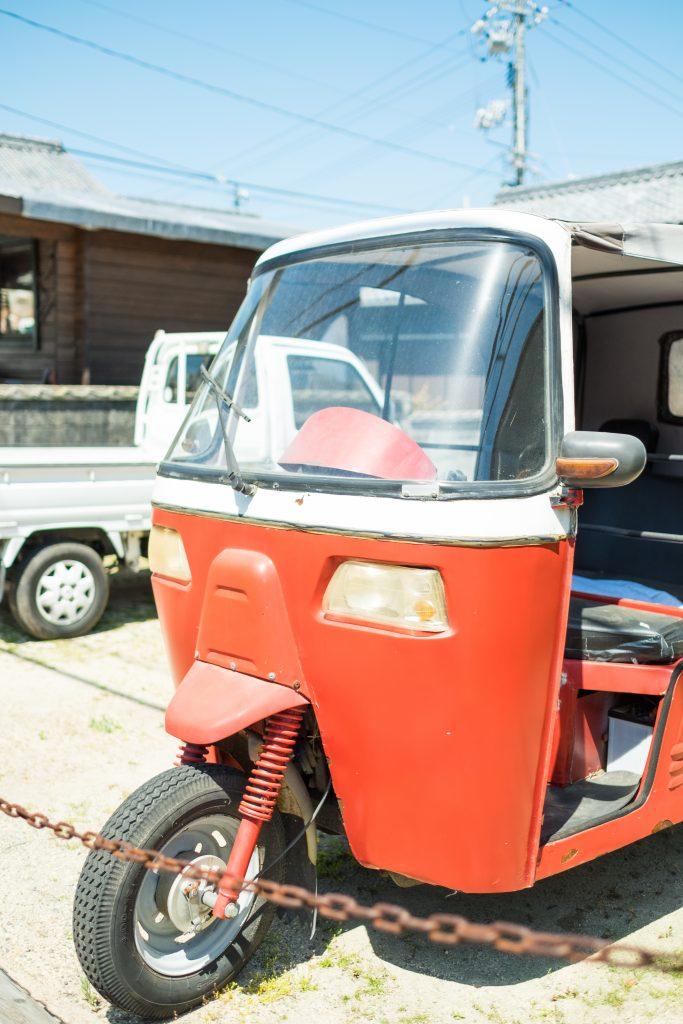 レトロ三輪車