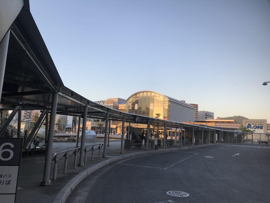 JR高松駅ロータリー