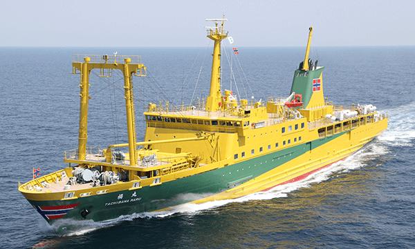 大型船「橘丸