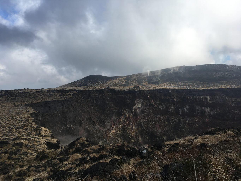 三原山火口周辺