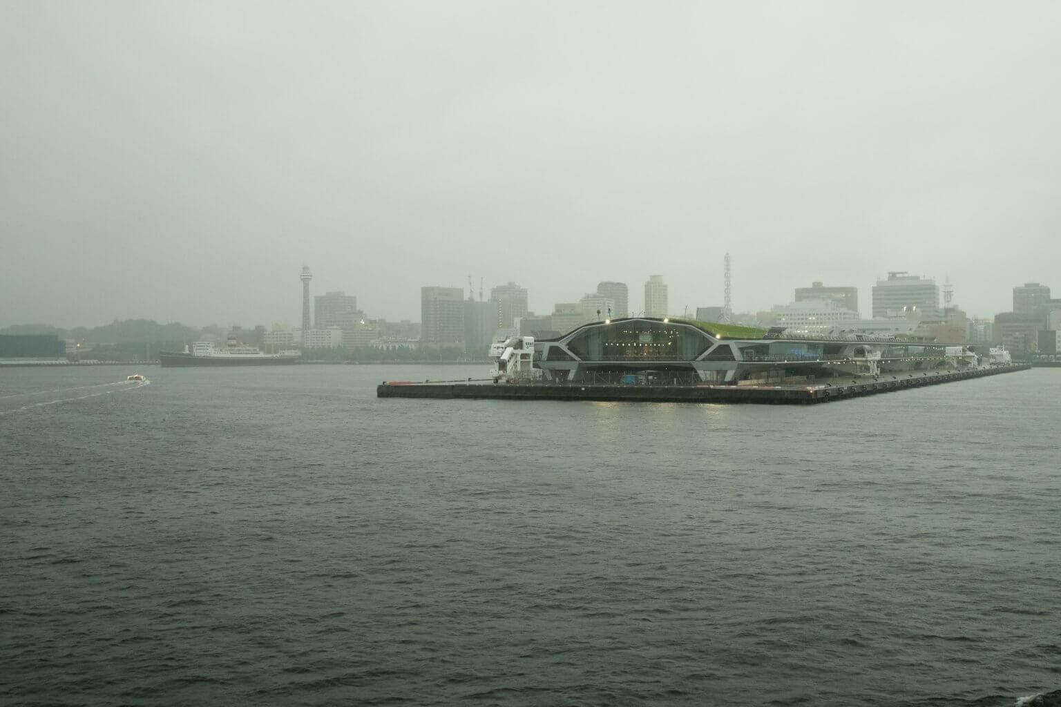 横浜港 大桟橋