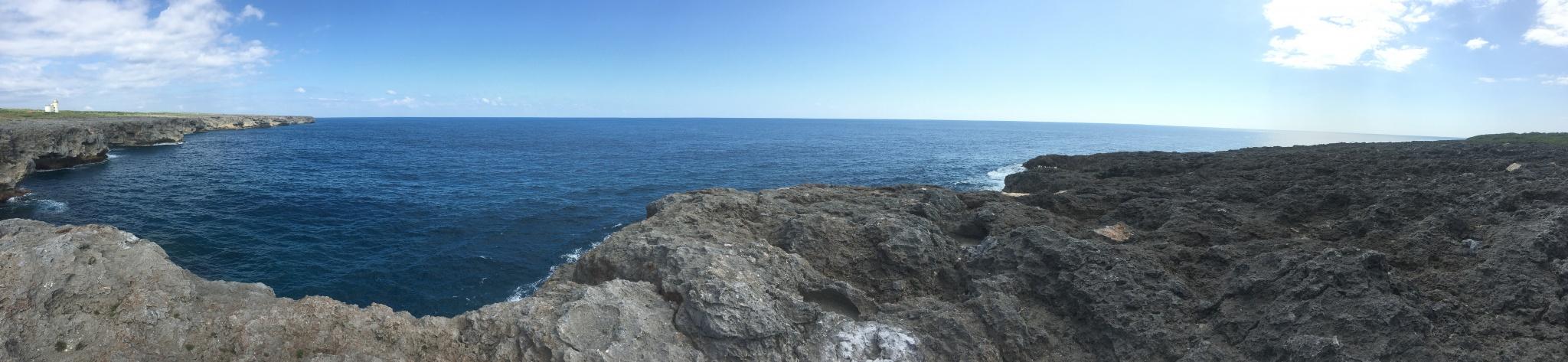 180°大パノラマの大海原!