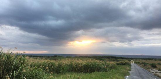 波照間島の日の出